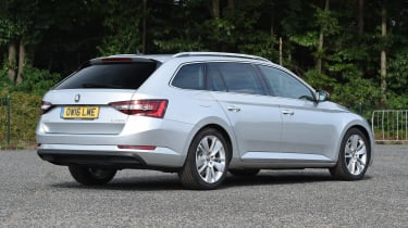 Skoda Superb Estate - rear static