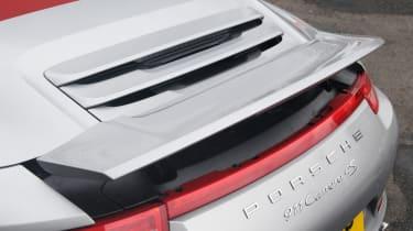 Porsche 911 Carrera 4S Cabriolet badge