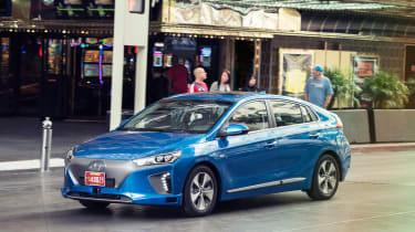 Hyundai Ioniq autonomous - front/side