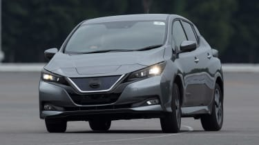 Nissan Leaf prototype - action