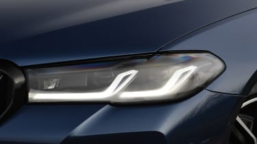 BMW 5 Series - headlight