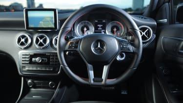 Mercedes A220 CDI AMG Sport interior