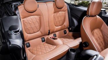 MINI Open 150 Convertible - rear seats