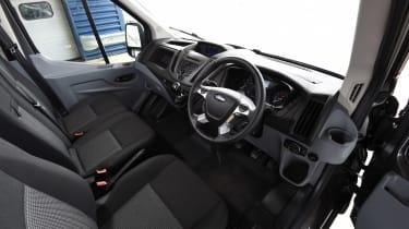Ford Transit cabin