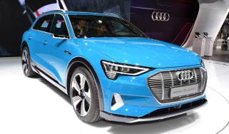 Audi e-tron - Paris front