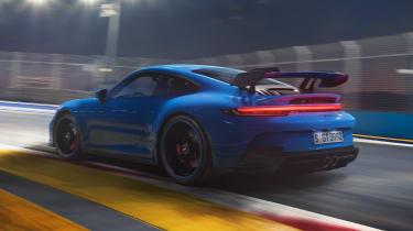 Porsche 911 GT3 - rear tracking
