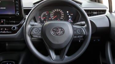 Toyota Corolla - steering wheel