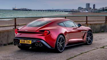 Aston Martin Vanquish Zagato - rear static