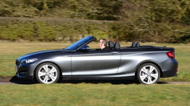 BMW 220d Convertible side