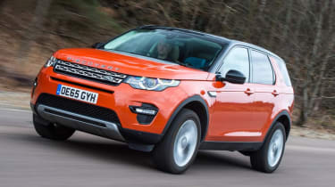 Used Land Rover Discovery Sport - front action