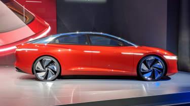 Volkswagen I.D. Vizzion - Geneva side