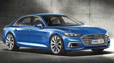 Audi A6 render exclusive image