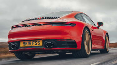 Porsche 911 Carrera S - rear tracking low