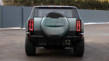 Hummer EV GMC - rear