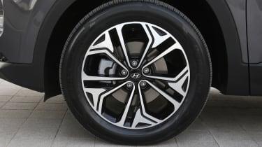 New Hyundai Santa Fe - wheel