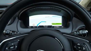 Jaguar XJ R-Sport 2015 dials