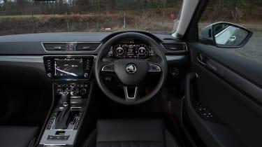 Skoda Superb iV - interior