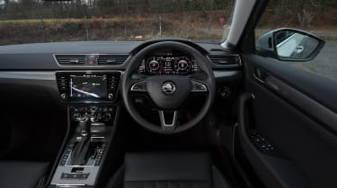 Skoda Superb iV - interior