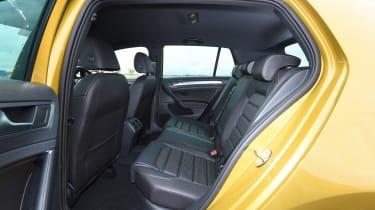 Volkswagen Golf - back seats