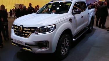 Renault Alaskan at Paris Motor Show 2016