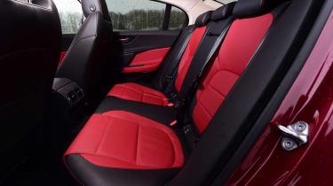 Jaguar XE - rear seats