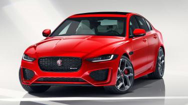 Jaguar XE - studio front