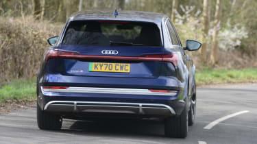 Audi e-tron S - rear cornering