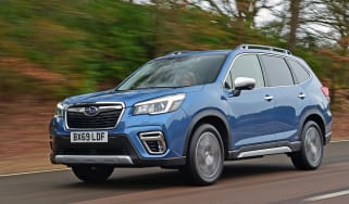 Subaru Forester 2020 in-depth review - front tracking