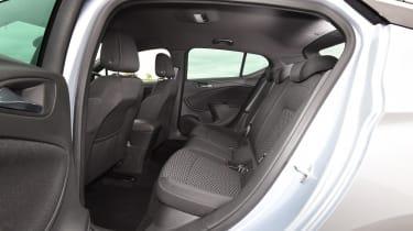 Vauxhall Astra - back seats