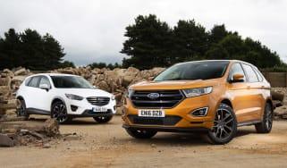 Ford Edge vs Mazda CX-5 - header