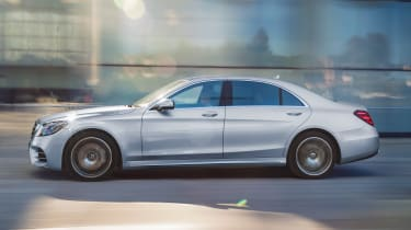 New Mercedes S-Class - side
