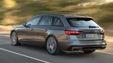 Audi A4 Avant - rear action