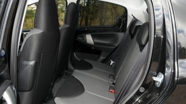 Toyota Aygo rear seats