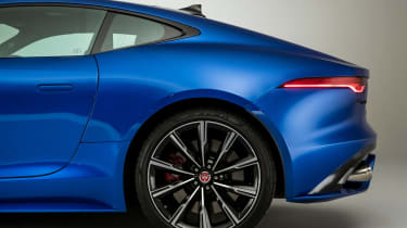 Jaguar F-Type - rear side static