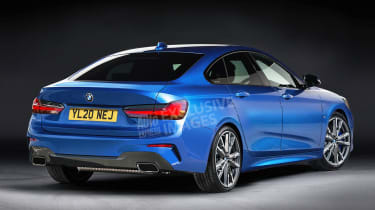 BMW 2 Series Gran Coupe - rear (watermarked)