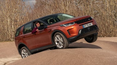 Land Rover Discovery Sport final report - off-road front