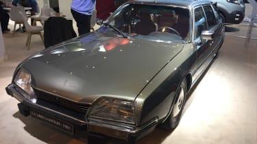 Citroen CX 2400 front - Retromobile