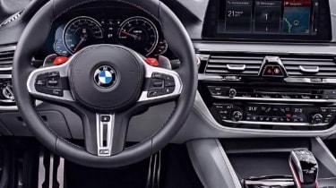 BMW M5 leaked - dash