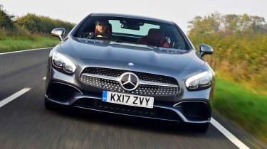 Mercedes SL 400 - full front