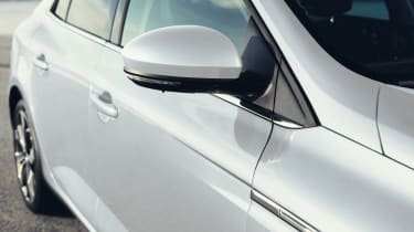 New Renault Megane Grand Coupe - side detail
