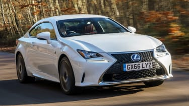 Lexus RC - front action
