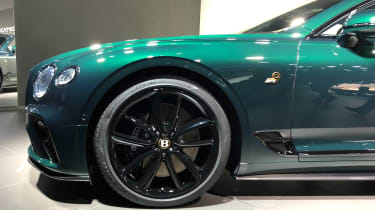 Bentley Continental GT No.9 edition - wheel
