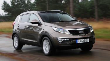 Kia Sportage SUV 2013 tracking
