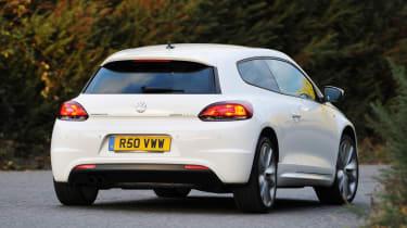 Volkswagen Scirocco R Line rear cornering