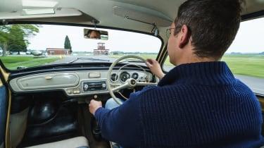 Original Skoda Octavia - Hugo driving