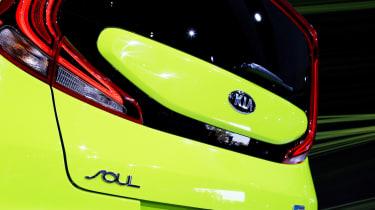 Kia Soul - LA show rear detail