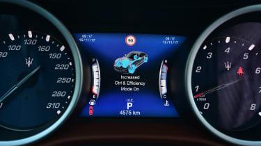 Maserati Ghibli facelift - dials