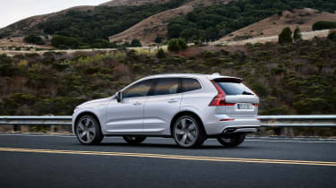 Volvo XC60 Polestar rear side
