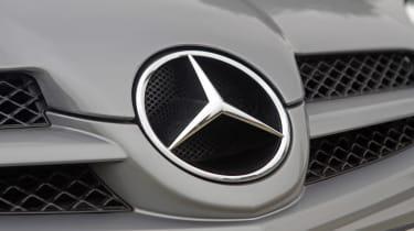 Used Mercedes SLK - Mercedes badge