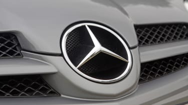 Used Mercedes SLK - Mercedes badge